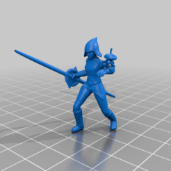 _7th_sister.png Download free STL file Seventh Sister (star wars legion scale) • 3D printable template, McAnultyMiniatures