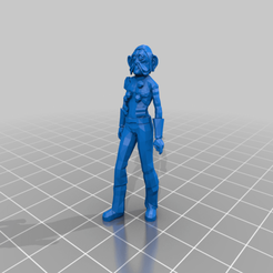 Download free 3D printing templates Sullustan Civilian (Star Wars Legion Scale), McAnultyMiniatures