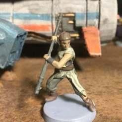Descargar archivos 3D gratis Rey (Escala de la Legión de Star Wars), McAnultyMiniatures