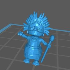 manchucho2.jpg Download free STL file King Manchucho of Aleen (star wars legion scale) • Object to 3D print, McAnultyMiniatures
