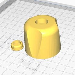 perilla.JPG Download STL file shower knob • 3D printing model, AlexisCh