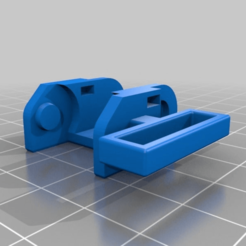 Download free STL file Anet A8 - Chain Piece with Filament Guide • 3D print design, Geaz