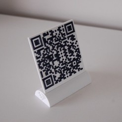 DSC_0014.JPG Download STL file Wifi QR flash code • 3D print object, Aldrick