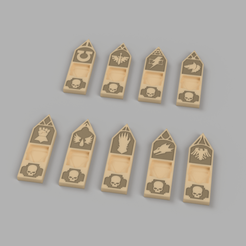Wound Marker v16.png Download free STL file Space Marine First Founding Chapter Wound Markers for Warhammer 40k • 3D printing object, OsseousMelodies