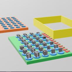التقاط.PNG Télécharger fichier STL TIMBRE DE BISCUITS DE CALENDRIER • Design pour impression 3D, mhbcom19961996