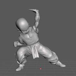 1.png Télécharger fichier STL Modèle 3D de Krillin • Modèle pour imprimante 3D, lmhoangptit