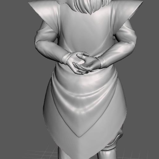 4.png Download STL file Kibito (Dragon Ball) 3D Model • 3D printing object, lmhoangptit