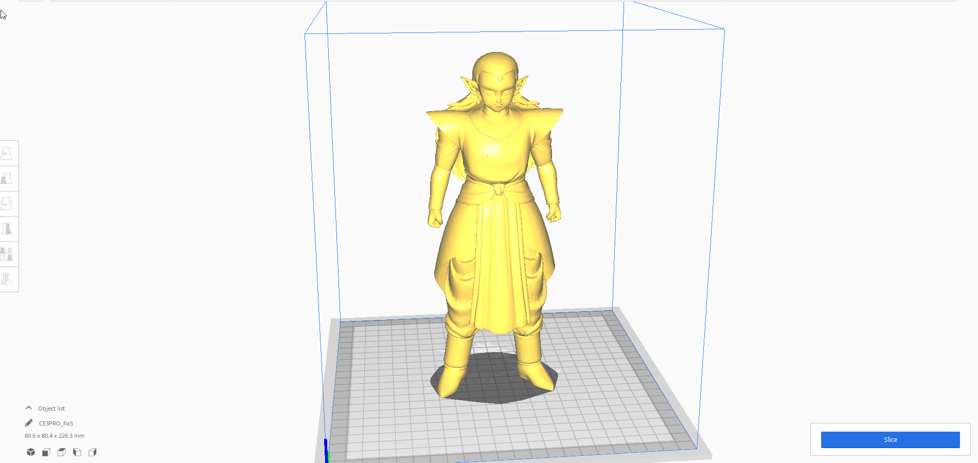 2.png Download STL file Kibito Kai (Dragon Ball) 3D Model • 3D printer design, lmhoangptit