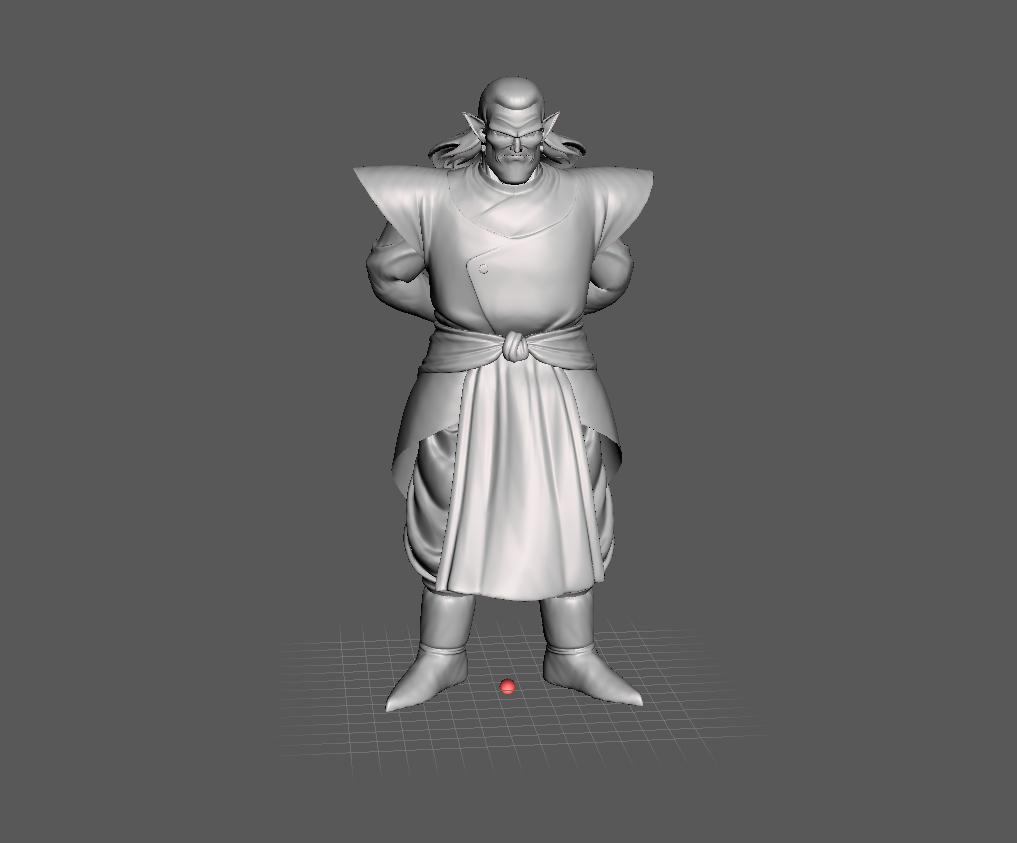 211.png Download STL file Kibito (Dragon Ball) 3D Model • 3D printing object, lmhoangptit