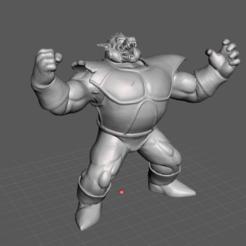 1.png Download STL file Oozaru Vegeta • 3D printer object, lmhoangptit