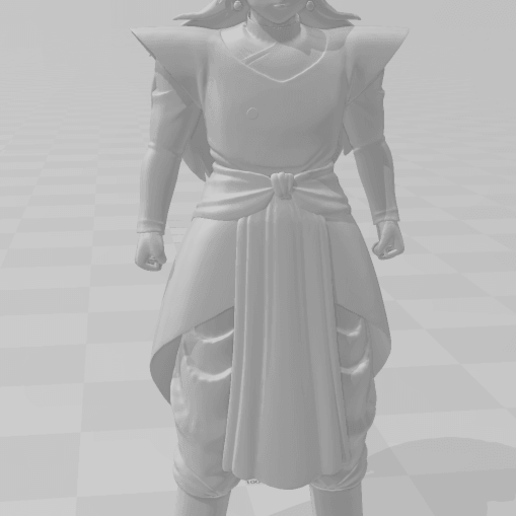 3.png Download STL file Kibito Kai (Dragon Ball) 3D Model • 3D printer design, lmhoangptit