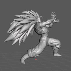 1.png Download STL file Songoku Super Saiyan 3 3D Model • Design to 3D print, lmhoangptit