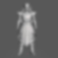 fix5.stl Download STL file Kibito Kai (Dragon Ball) 3D Model • 3D printer design, lmhoangptit