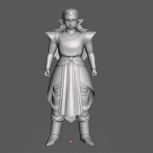 12.png Download STL file Kibito Kai (Dragon Ball) 3D Model • 3D printer design, lmhoangptit