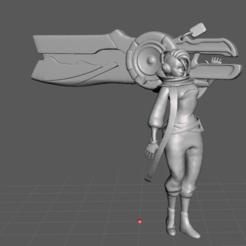 2.png Download STL file True Damage Senna • 3D printer object, lmhoangptit
