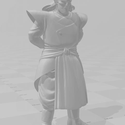 2.png Download STL file Kibito (Dragon Ball) 3D Model • 3D printing object, lmhoangptit