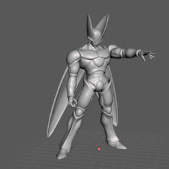4.png Download STL file Perfect Cell - Dragon ball Z 3D Model • 3D printer design, lmhoangptit