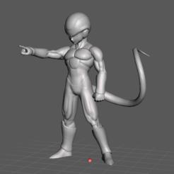 33.png Télécharger fichier STL Modèle 3D de Frost (Dragon Ball) • Modèle pour imprimante 3D, lmhoangptit