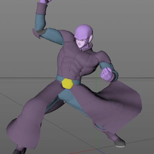 Screenshot_3.png Descargar archivo STL Golpea el modelo super 3D de Dragon Ball • Objeto imprimible en 3D, lmhoangptit