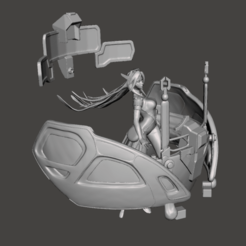 1.png Télécharger fichier STL Modèle 3D de Psyops Sona • Plan à imprimer en 3D, lmhoangptit