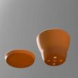 Télécharger fichier STL gratuit Pot de plantes simple • Objet pour imprimante 3D, LU3D