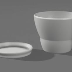 Télécharger objet 3D gratuit Pot de plantes simple, LU3D