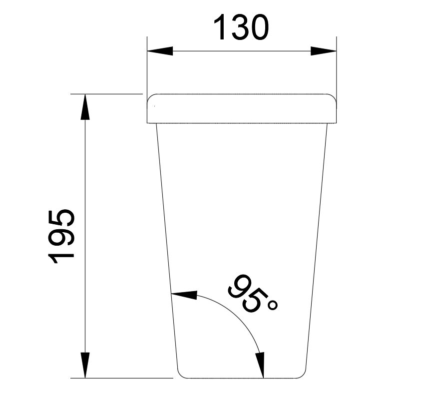 Vaso_Termico-cotas.jpg Download free STL file Thermal Glass (Fernet/Beer) • Design to 3D print, leandro_ch