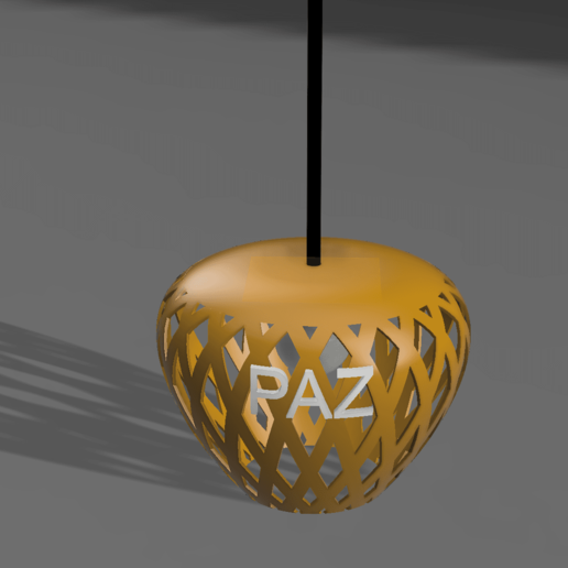 Download free STL file Ceiling lamp • 3D printing object, leandro_ch