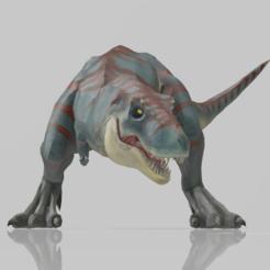 Descargar diseños 3D T-Rex Dinosaur, adrianricardinho88