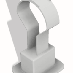 soporte auricular v5.png Download STL file Headphone holder • 3D printable object, jontivero93