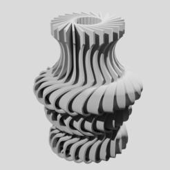Download STL file Futuristic design vase • 3D printable model, Nicolas_Dubreil_Lelong