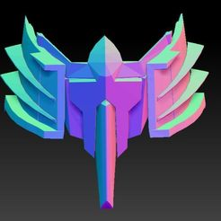 gundam 2 - 2.jpg Download STL file Fan Art Gundam Style Face Mask • 3D printable design, t3dp