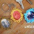 Télécharger STL gratuit Porte-clés photo baroque, GinSicily