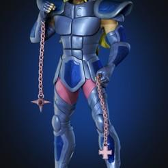 Renderizado.jpg Download STL file Albiore Saint Seiya • Model to 3D print, Jadson3d