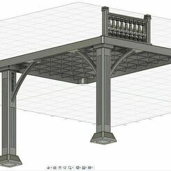 2.JPG Télécharger fichier STL gratuit Sylvanian La Grande Maison Eclairée extension • Plan pour impression 3D, Litalien