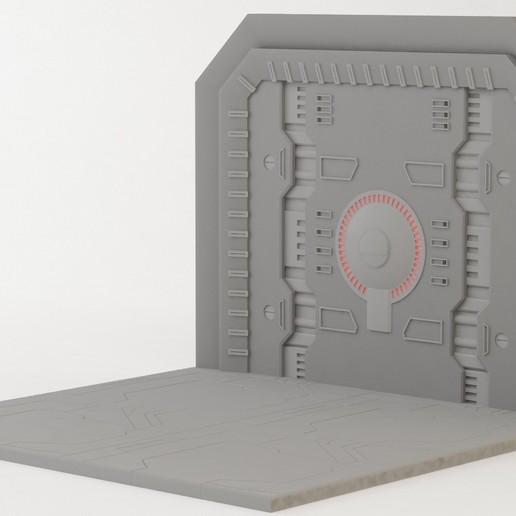 Download 3D printing templates transformers FOC door display, leoCerN