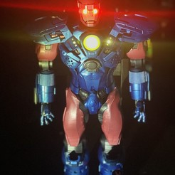 "2b.jpg Download STL file Giant Sentinel X-MEN 22-24"" tall made with elegoo mars • 3D printing object, ShinjiAF"