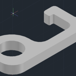 Download free STL file Covid Hook • Template to 3D print, Mimuvi