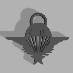 Download STL file Patent for key ring • Model to 3D print, Stephtvt