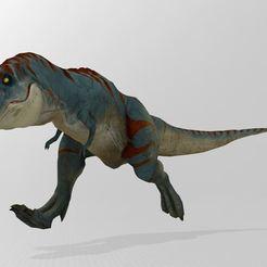 T-Rex.JPG Download free STL file T-REX • 3D printable design, Stephtvt
