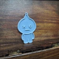 Download STL BTS Van Keychain / Pendant, elektrajade