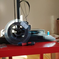 General side view picture.jpg Download free STL file Side Spool System for Sidewinder X1 • 3D printer model, Atoban