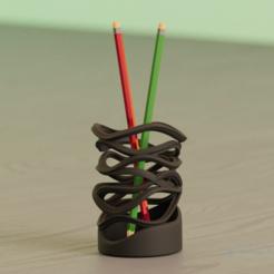 Ekran Alıntısı-1.PNG Télécharger fichier OBJ Boîte à crayons Wave • Modèle pour impression 3D, aishaselime