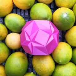 IMG_20201023_225150.jpg Download STL file Origami star pot • 3D printing object, hruska