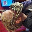 Télécharger fichier STL gratuit Facehugger Covid Mask ( E.T. help NY ) • Plan pour impression 3D, Ramek