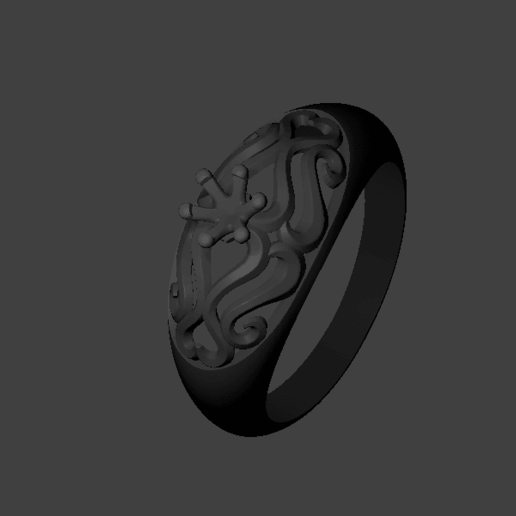 Solitaire ring.png Download free STL file Solitaire Ring • 3D printing template, adakvishal