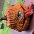 Download free STL file TofuRevolution's One-eyed pumpkin  • 3D printable template, currysmegs