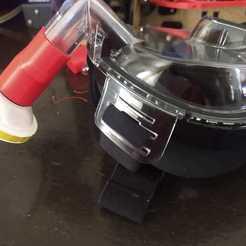 Descargar archivos 3D COVID 19 Adaptador de snorkel a filtro, agh0993