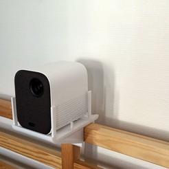 Télécharger fichier STL Support vidéoprojecteur  • Objet imprimable en 3D, Huna3dprint
