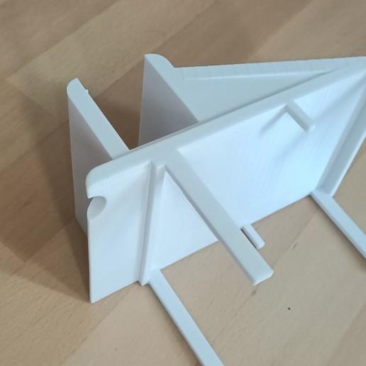 img support proj 1.jpg Download STL file Video projector support • 3D printable design, Huna3dprint